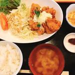 かき太郎 - チキン南蛮定食(¥550)