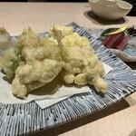 ざくろ - 白子の天ぷら