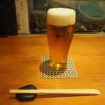 錦 - 生ビール