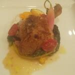 リストランテオガワ - 鴨モモ肉のポタッキオ