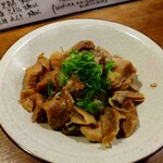徳田酒店 - 料理写真:ホルモン煮込み