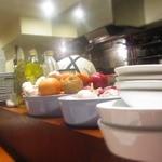 イルチッチォーネ - オープンキッチン