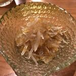 日本酒バルどろん - 本物の梅水晶