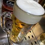 産直市場 丸 - 生ビール