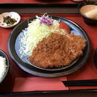 ローン - 料理写真:ロースかつ定食