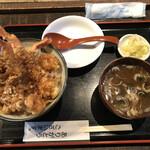 高半 - 海老天丼