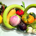 ヴィノーブル - 毎年初夏から晩秋にかけて、長野・蓼科高原にある自家菜園でオーナー自ら育てた無農薬野菜を堪能して頂けます。