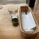 みそカフェmisola - 最初に味噌漬けが出てきましたよ