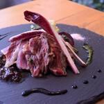 レストラン パントリー - リブロース炭窯ステーキ