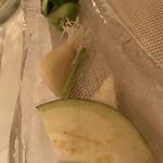 神田小川町 幻のイタリアン カンティーニ - バーニャカウダの、野菜