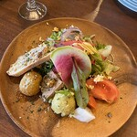 127537018 - 前菜サラダ