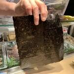 第三春美鮨 - 熊本の「金の浅草海苔」