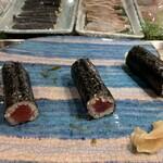 第三春美鮨 - 鉄火同時対比