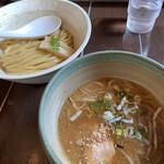 麺 風来堂 - つけ麺醤油冷や盛り