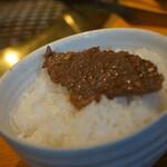 127549785 - 肉!米!食らう!