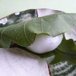 杵屋 - かしわ餅(柏の葉っぱのいい匂い~)