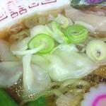 東京ラーメン本丸 - わんたん麺②
