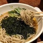 松玄 凛 - 蕎麦は標準的な二八蕎麦