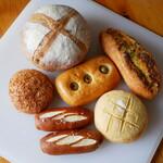 パン工房ももんが - 料理写真:ある日のお買い物
