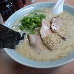 一番星 - ラーメン600円 最高至高の一杯!スープを残したことが1度も無い!