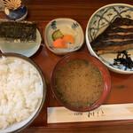 和もと - からすがれい味噌漬定食(990円)