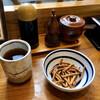 江戸堀 木田 讃岐うどん - 料理写真:お茶と揚げうどん