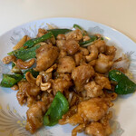 ジャスミン亭 - 鶏のカシューナッツ炒め