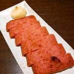 しまね料理とさばしゃぶの店 主水 - 浜田の赤天炙り