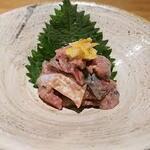 産直青魚専門 池袋 御厨 - サバの塩辛
