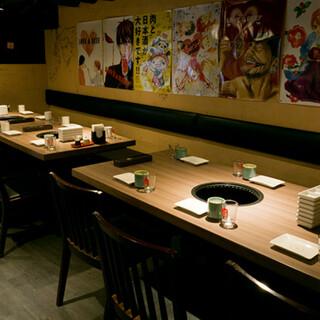 【感染症対策】通常の飲食店の6倍もの環境整備整っております。
