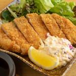 北ノ酒場 TACHIPPA - 栗豚料理(スペイン産栗豚カツ)