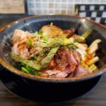 肉麺ひだまり庵 - 料理写真:つけ麺 こってりしょうゆ