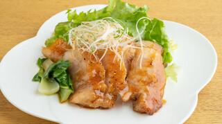 北ノ酒場 TACHIPPA - 大山鶏料理(ジューシー大山鶏 照り焼き)
