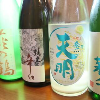 日本酒のペアリングをお愉しみください。