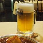 ビッグ・アップル・ダイナー - 男のハンバーグ と ビール
