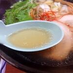 麺屋 つきのわ - 2020年3月 スープ