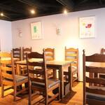 和食 縁 蕎麦切り - テーブル席