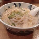 手作りの味噌らーめん 味噌樽 - 春野菜タンメン