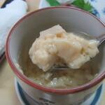 大鮨 - 柔らかめだが美味しい茶碗蒸し