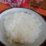 スタミナラーメン のぶちゃん - 半ライス¥150