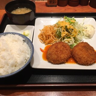 ラミ - カニクリームコロッケ(全体)