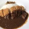 レストランえぼし - 料理写真:カツカレー多分1000えん位