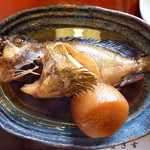 12759949 - まさ吉@葉山 煮魚定食 かさご
