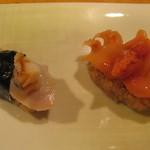 ゆうひ鮨 - 貝類