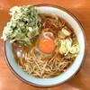 そば うどん 元長 - 料理写真:春菊そば(390円)+生玉子(60円)
