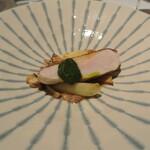 リストランテ カノフィーロ - 宮崎産地頭鶏 胸肉のアロースト