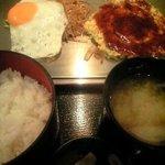 感激 たぬき - お昼の定食