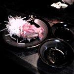 お好み焼き&もんじゃ 花のか - 料理写真:鳥のたたき