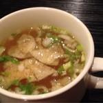 ジュンバタン・メラ - スープ 何のスープだろう?