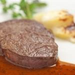 ホテル ラ・スイート神戸ハーバーランド - 神戸牛フィレ肉のポワレ マスタードソース ポテトのグラタン添え